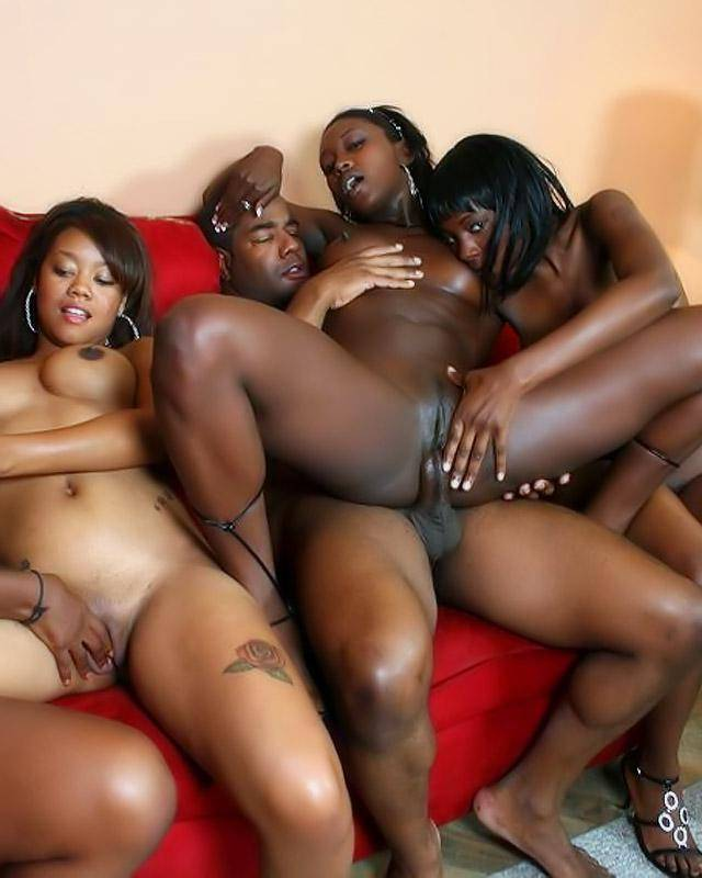 Ebony fuck group