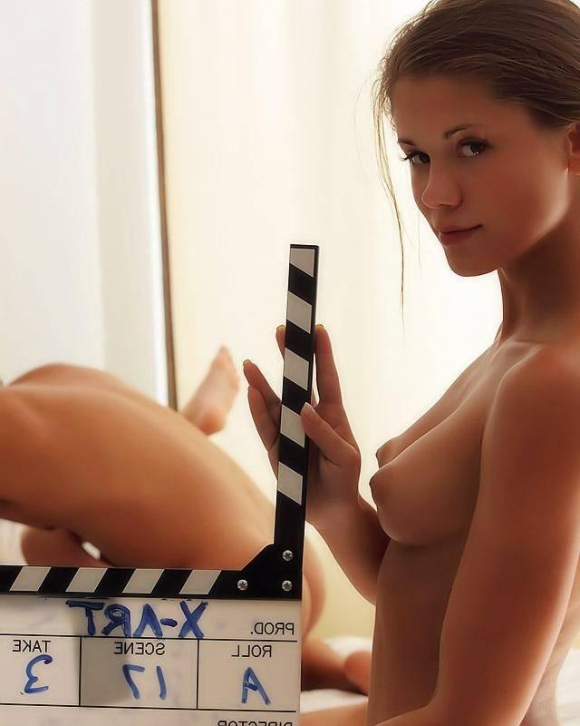 Съемки домашнего порно видео с молодой блондинкой