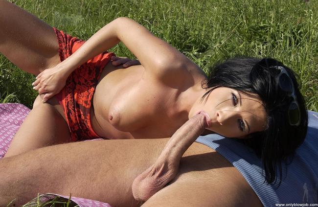 Незабываемый секс на открытом воздухе
