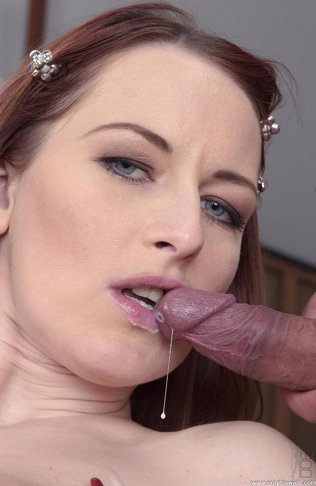 Вероника обожает оральный трах