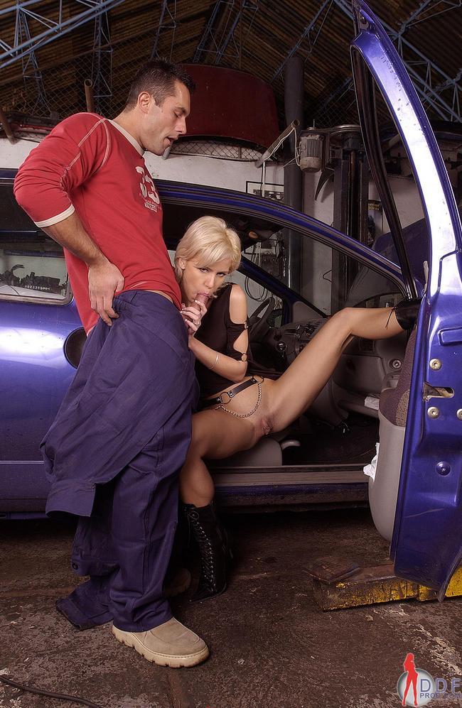 Супруга машины отсосала автомастеру