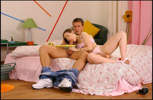 Женя лижет огромный член смотреть эротику