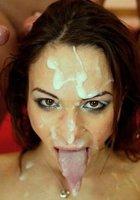 Фото забрызганные спермой