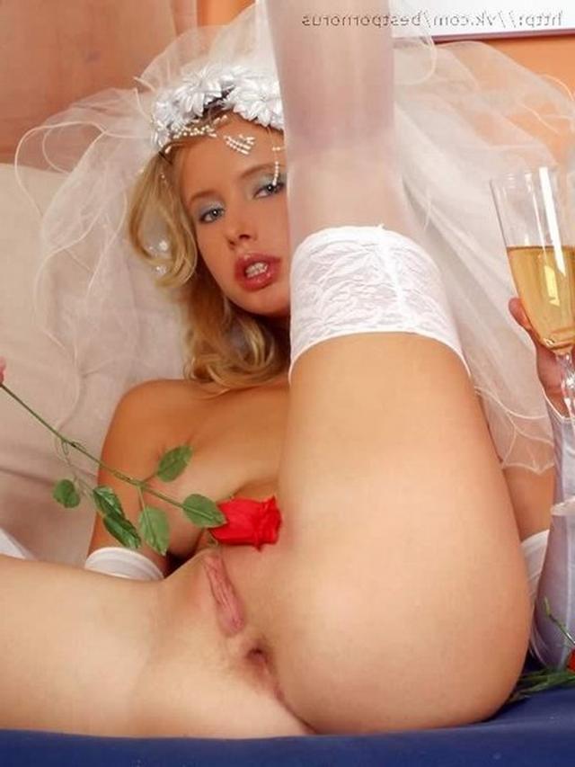Развратным невестам нравится секс