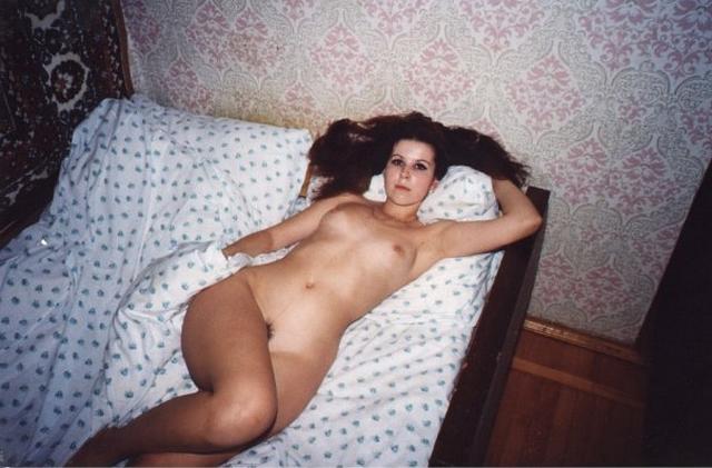 Сексуальные снимки одной домохозяйки