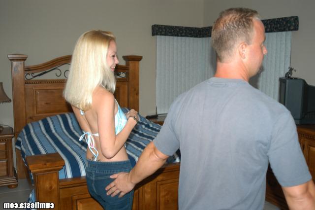Добрая блонди отдалась по просьбе