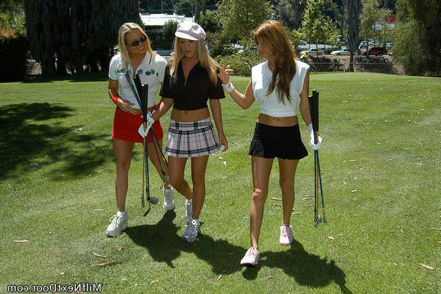После игры в гольф потрахались