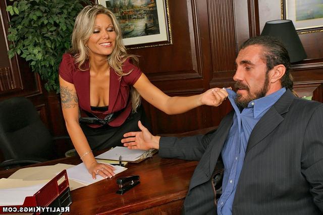 В кабинете начальницы