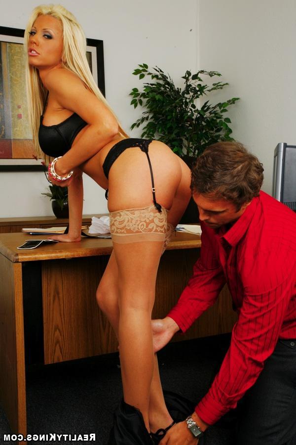 Офисная девка