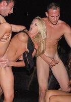 Публичный секс в клубе 15 фотография