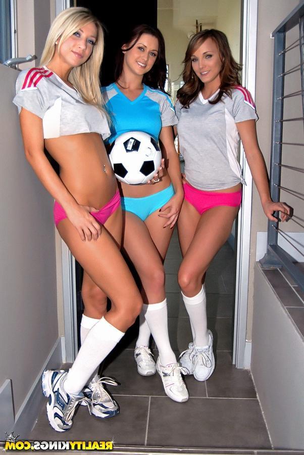 Футбольные фанатки