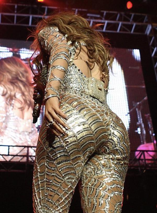 Классная попа страстной Jennifer Lopez секс фото