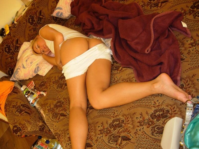 Откровенные фотографии половой жизни молодоженов