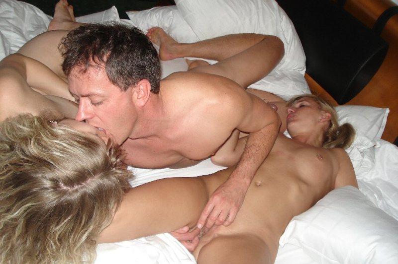 Домашний групповой секс