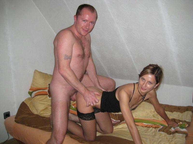 Частные интимные фото семейной пары