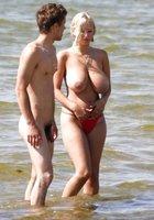 Порнофото эротика на пляже