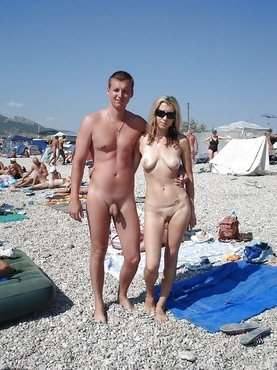 Реальное порно на нудистском пляже