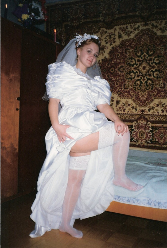 Молодая невеста мечтает поскорее оказать в постели с женихом