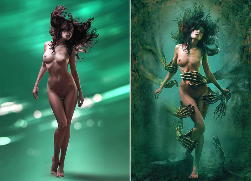 Модель из известного журнала продемонтстрировала себя без стрингов секс фото