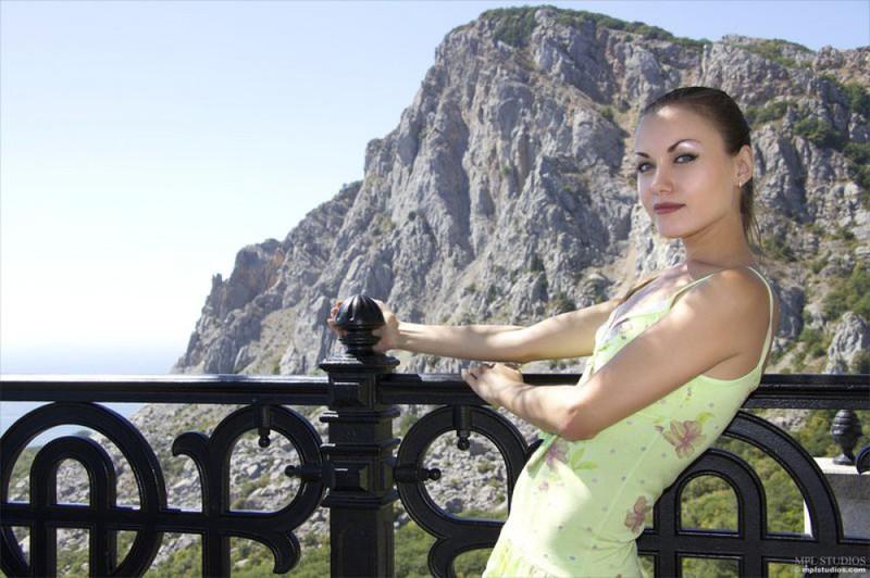 Худая Марта отдыхает в Крыму