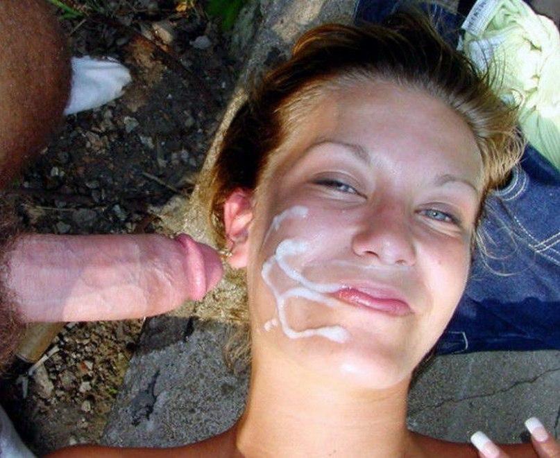 Сперма На Лице У Девушке