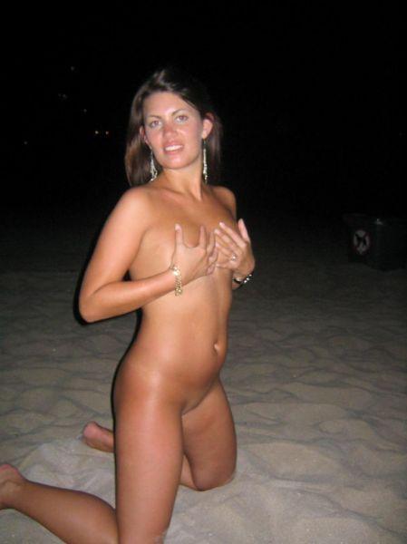 Фрау не прочь появиться на камеру с голыми грудями