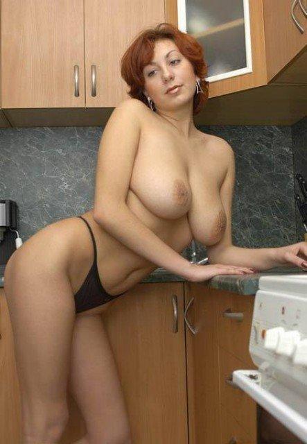 Рыжие Порно Мамка Кухня