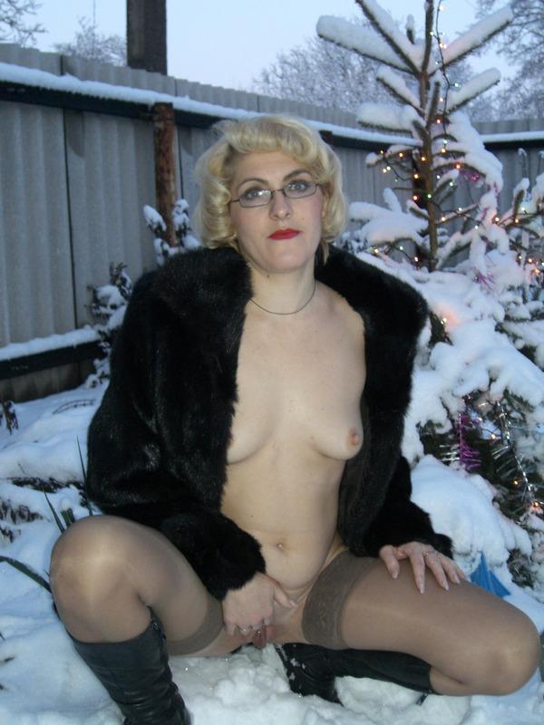 Порно На Природе Зимой