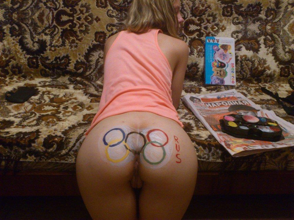 Анальные развлечения чувихе перед олимпиадой в Сочи (44 фото)