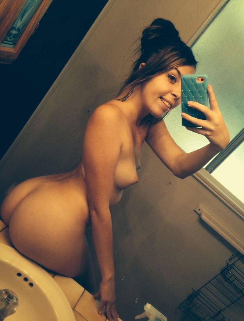 Naked Girl Mirror