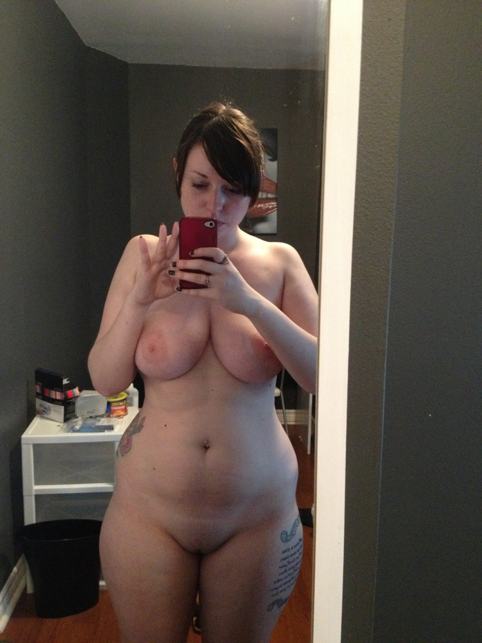 Fat Moms Nude Selfie