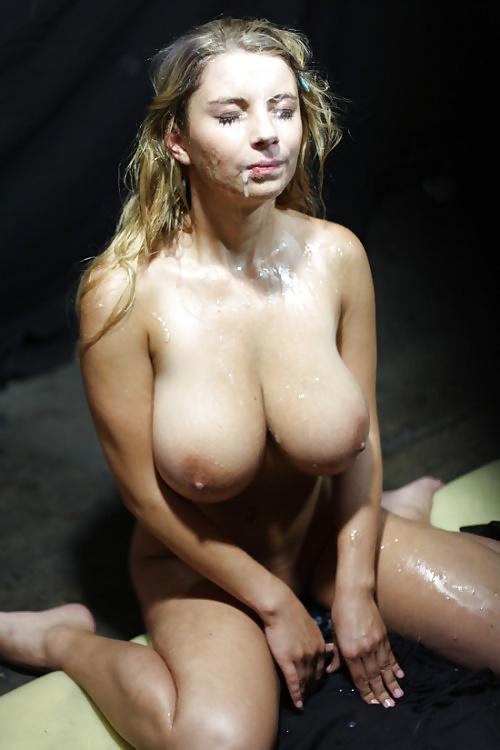 Подборка красивых девушек в сперме