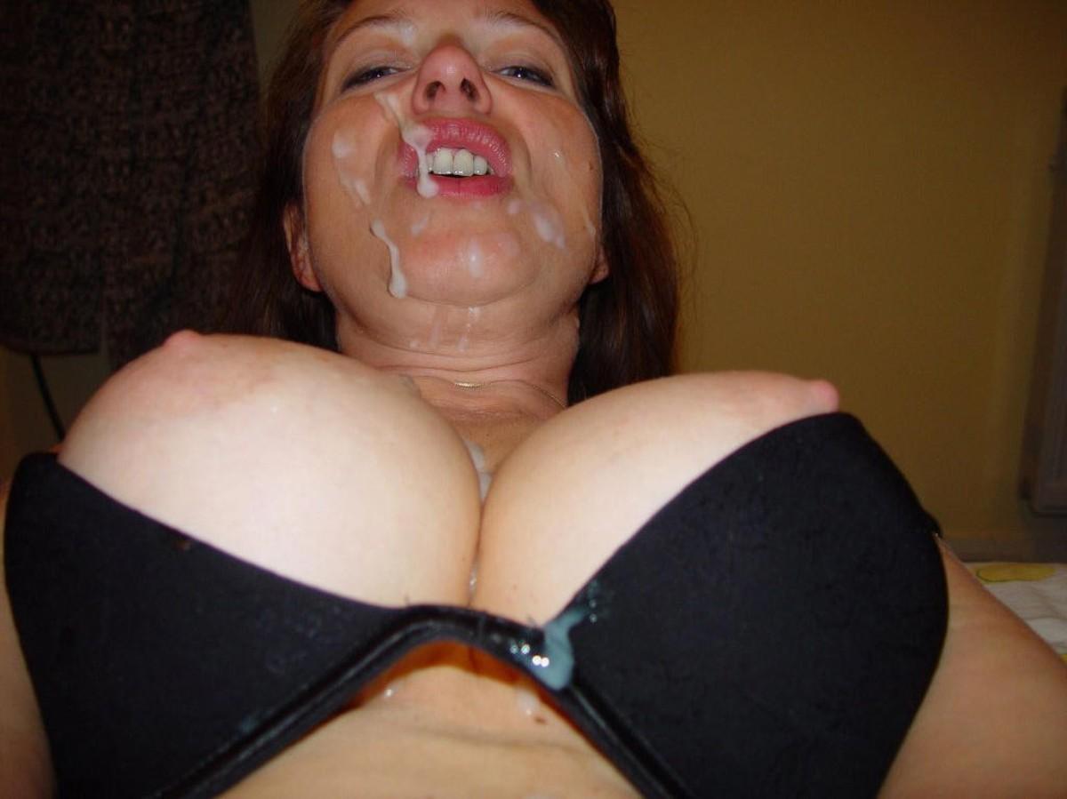 Бойфренды забрызгали лица красавиц спермой после траха