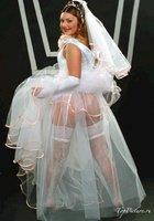 Пошлые невесты развратничают перед свадьбой 17 фотография