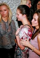 На вечеринке пьяные девушки начали развратничать с парнями 11 фотография