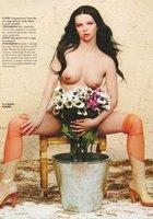 Актриса Алиса Гребенщикова в журнале Playboy 6 фотография