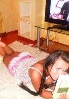 Подборка вызывающих снимков с сексуальной Аней Майами, не стесняющейся светить своим телом 10 фотография
