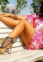 Подборка вызывающих снимков с сексуальной Аней Майами, не стесняющейся светить своим телом 11 фотография