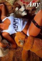 Подборка вызывающих снимков с сексуальной Аней Майами, не стесняющейся светить своим телом 12 фотография