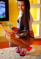 Подборка вызывающих снимков с сексуальной Аней Майами, не стесняющейся светить своим телом 14 фотография